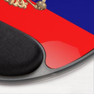 ロシアのな光沢のある旗 ジェルマウスパッド