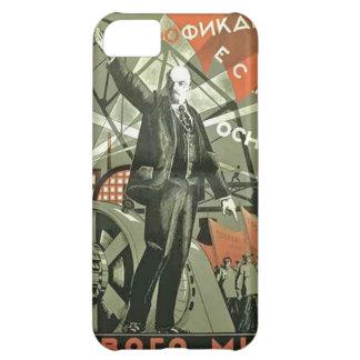 ロシアのな共産主義のプロパガンダポスター iPhone5Cケース