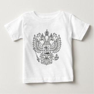 ロシアのな帝国紋章付き外衣 ベビーTシャツ