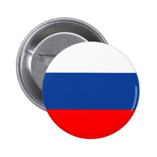 ロシアのな旗ボタン 5.7CM 丸型バッジ