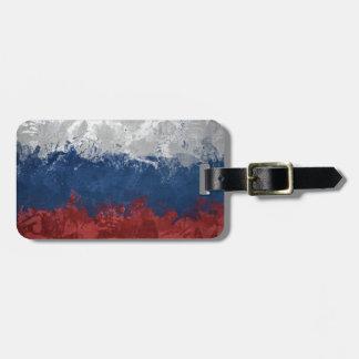 ロシアのな旗 ネームタグ