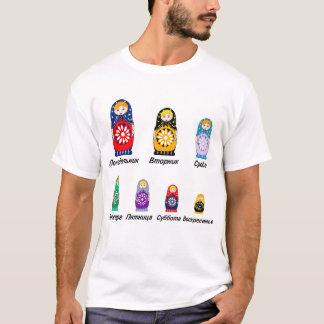 ロシアのな曜日 Tシャツ