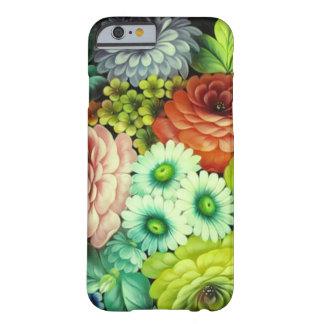 ロシアのな民芸の花 BARELY THERE iPhone 6 ケース
