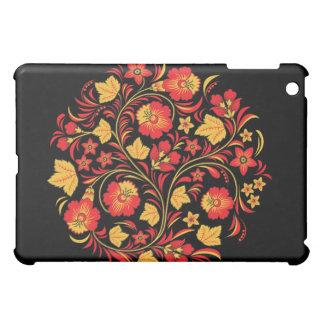 ロシアのな民芸のKhokhlomaのiPadの場合 iPad Miniカバー