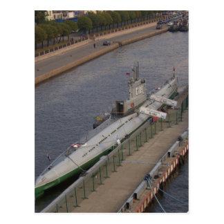ロシアのな潜水艦C189 ポストカード