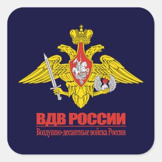 """""""ロシアのな空挺作戦部隊の紋章"""" スクエアシール"""