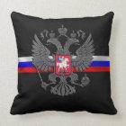 ロシアのな紋章付き外衣 クッション