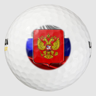 ロシアのな紋章付き外衣 ゴルフボール