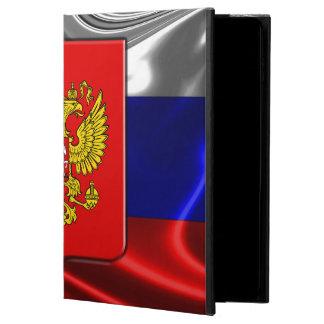 ロシアのな紋章付き外衣 POWIS iPad AIR 2 ケース