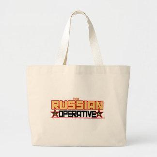 ロシアのな職工 ラージトートバッグ