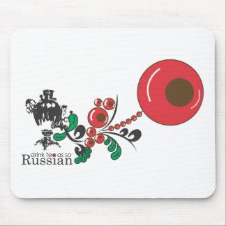 ロシアのな茶 マウスパッド