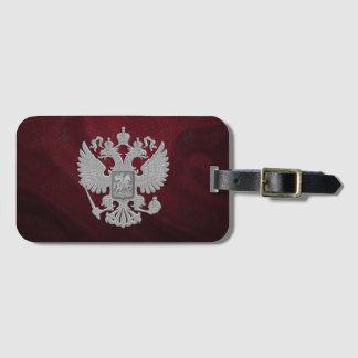 ロシアのな記号の旗 ラゲッジタグ