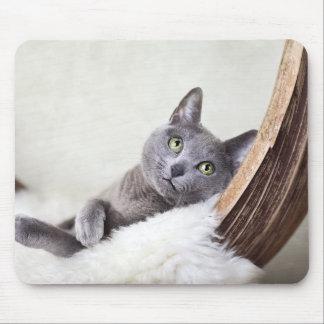 ロシアのな青 マウスパッド