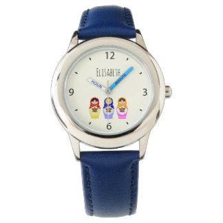 ロシアのなmatryoshkaの人形の名前 腕時計