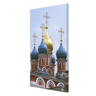 ロシアのロシア正教の上 キャンバスプリント
