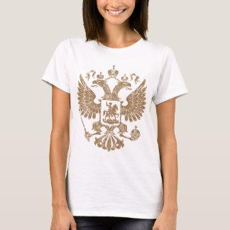 ロシアのヴィンテージの紋章付き外衣 Tシャツ