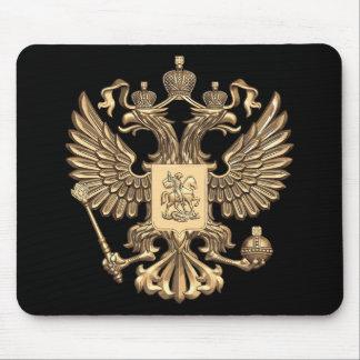 ロシアの二重ワシ マウスパッド