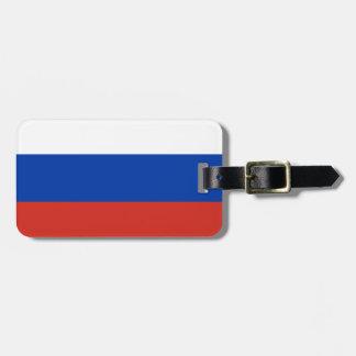 ロシアの国民の世界の旗 ネームタグ