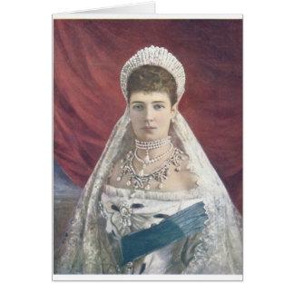 ロシアの寡婦の皇后 カード