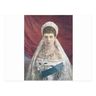 ロシアの寡婦の皇后 ポストカード