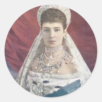 ロシアの寡婦の皇后 ラウンドシール