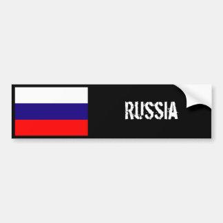 ロシアの旗のバンパーステッカー バンパーステッカー
