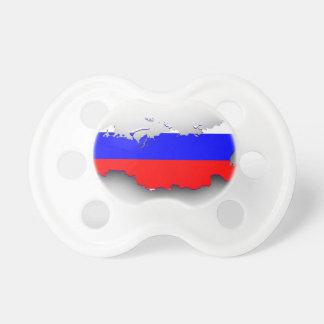 ロシアの旗の地図 おしゃぶり