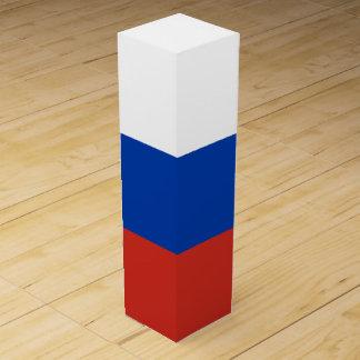ロシアの旗 ワインギフトボックス
