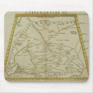 ロシアの旧式な地図 マウスパッド