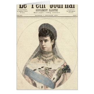 ロシアの皇后 カード