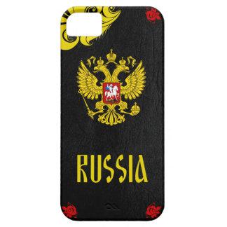 ロシアの紋章付き外衣 iPhone SE/5/5s ケース