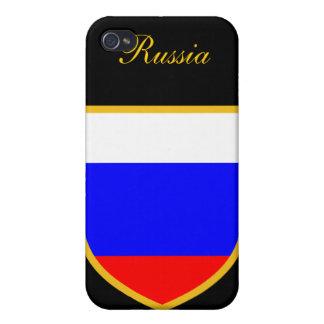 ロシアの美しい旗 iPhone 4/4S カバー
