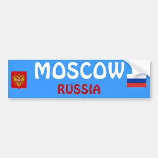 ロシアモスクワのバンパーステッカー バンパーステッカー
