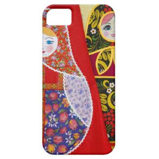 ロシア人のMatryoshkaの人形の絵画 iPhone 5 Case