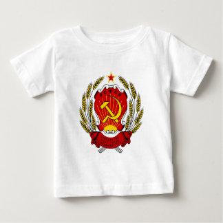 ロシア人SFSRの紋章付き外衣 ベビーTシャツ