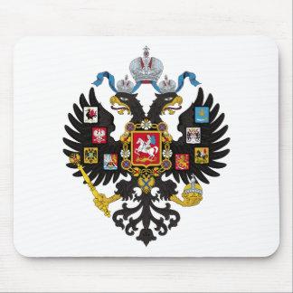 ロシア帝国の紋章付き外衣 マウスパッド