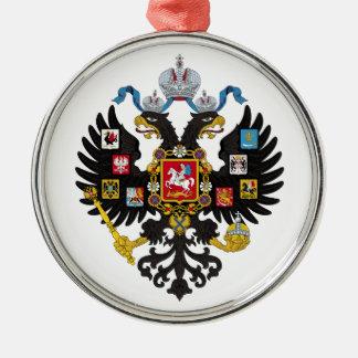 ロシア帝国1883年の少し紋章付き外衣 メタルオーナメント