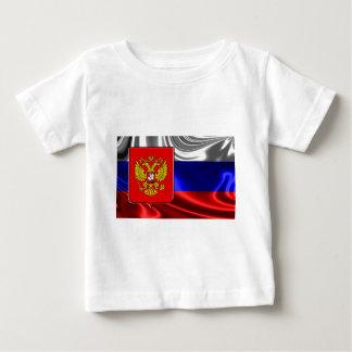 ロシア旗#4 ベビーTシャツ