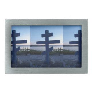 ロシア正教の十字 長方形ベルトバックル