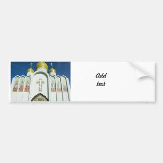 ロシア正教 バンパーステッカー