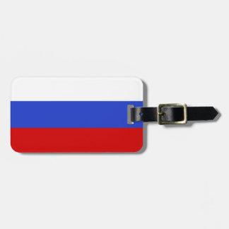 ロシア語の旗 バッグタグ