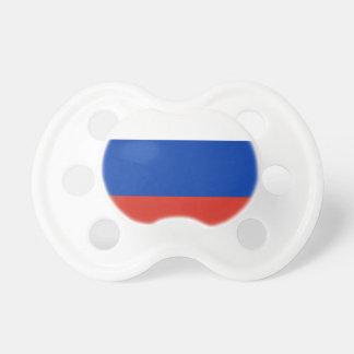 ロシア- ФлагРоссии - Триколор Trikolorの旗 おしゃぶり