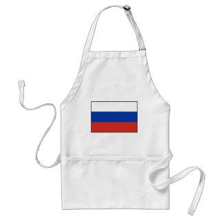 ロシア- ФлагРоссии - Триколор Trikolorの旗 スタンダードエプロン