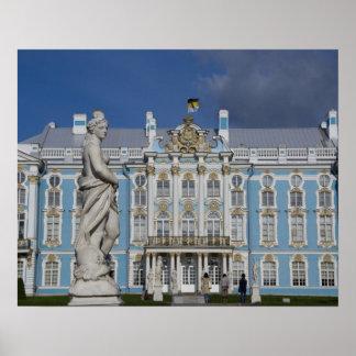 ロシア、セント・ピーターズバーグのキャサリンの宮殿(別名5 ポスター