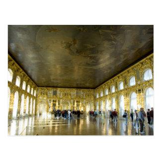 ロシア、セント・ピーターズバーグのキャサリンの宮殿(別名8 ポストカード