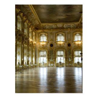 ロシア、セント・ピーターズバーグのPeterhof宮殿(別名2 ポストカード