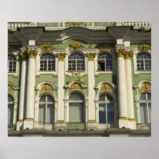 ロシア。 セント・ピーターズバーグ。 冬宮殿。 隠者の住処 ポスター