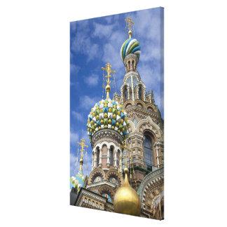 ロシア、セント・ピーターズバーグ、Nevsky Prospekt キャンバスプリント