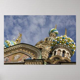 ロシア、セント・ピーターズバーグ、Nevsky Prospekt ポスター