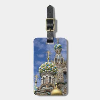 ロシア、セント・ピーターズバーグ、Nevsky Prospekt ラゲッジタグ